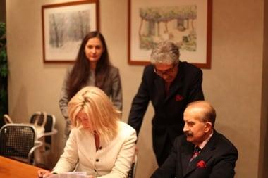 Подписание договора с Европейским Институтом Онкологии