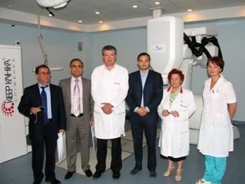 Иранская делегация в Клинике Спиженко
