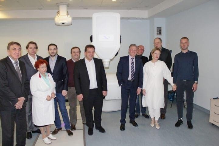 Делегация коллег из Германии посетила Клинику Спиженко