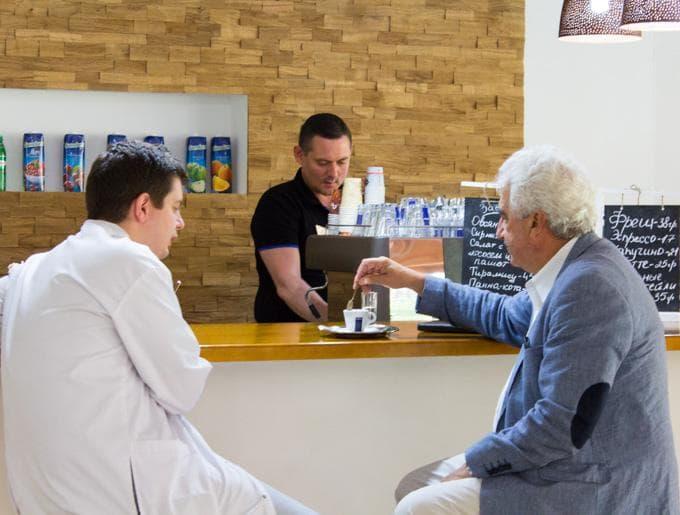Главный нейроонколог Украины, Владимир Давидович Розуменко, с визитом в Клинике Спиженко