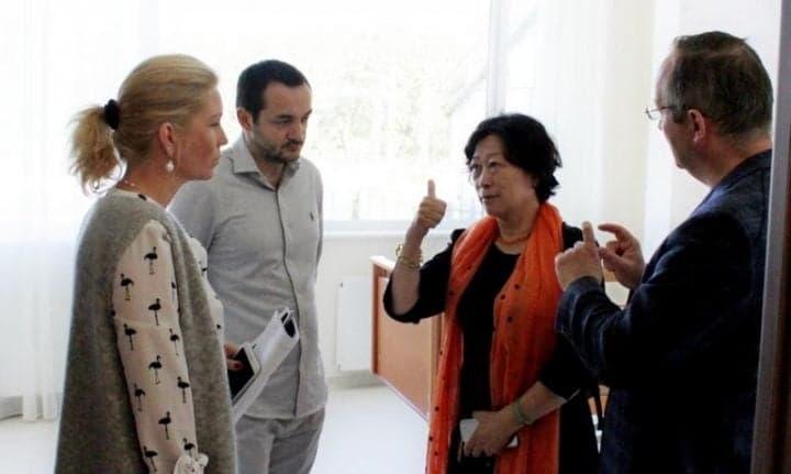 Клиника Спиженко приняла делегацию из Китая