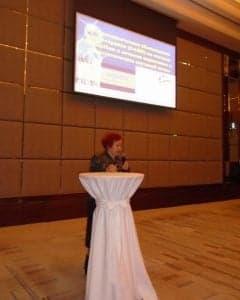 Как лечить рак почки без удаления - доклад Кибер Клиники на конференции в Харькове