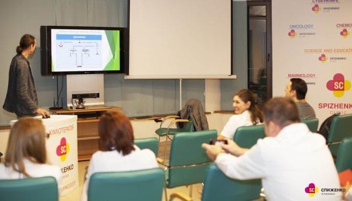 Новые возможности молекулярной генетики в исследовании опухолевых заболеваний: презентация CSD Health Carе в Клинике Спиженко