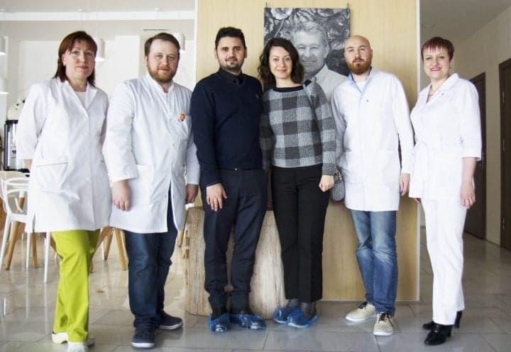 """Дружественный визит главного медицинского физика Больницы """"Газиосманпаша"""" в Стамбуле в Клинику Спиженко"""