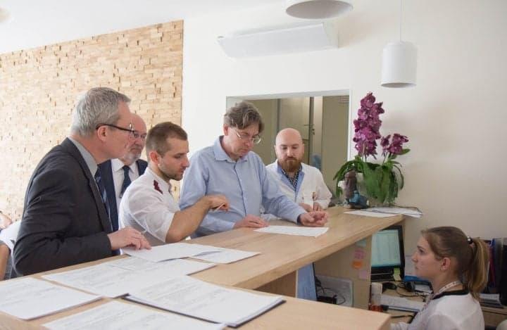 В гостях у Клиники Спиженко делегация миссии МАГАТЭ в Украине