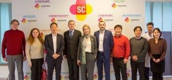 Корейская делегация в Клинике Спиженко