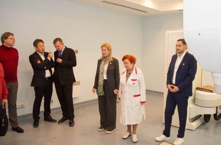 Визит корейской делегации в Клинику Спиженко