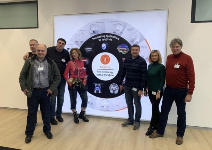 Продуктивная встреча и планы на долгосрочное партнерство Клиника Спиженко - Siemens Healthineers