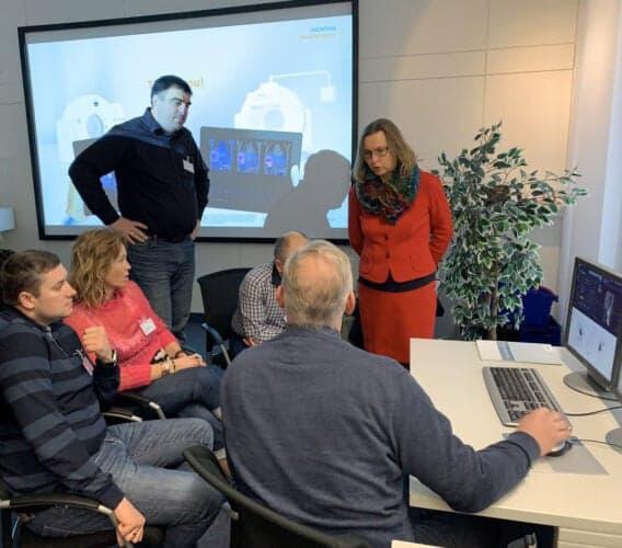 Знакомство с новым програмным обеспечением и обучающими программами для радиологов