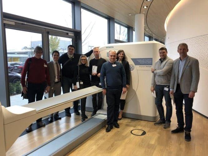Знакомство с новым медицинским оборудованием КТ и МРТ - прямо на заводе Siemens Healthineers