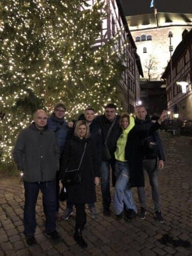 Благодарны за организацию визита в Германию и сопровождение нашей делегации представителю компании Siemens Healthineers Николаю Агабалову
